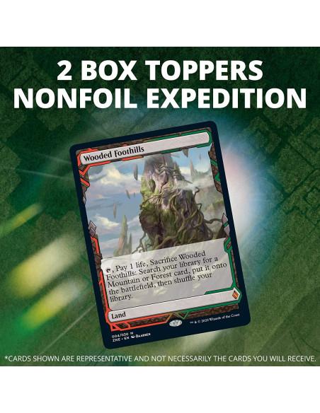 2 box topper no foil expedition por caja de collector booster de Zendikar Rising