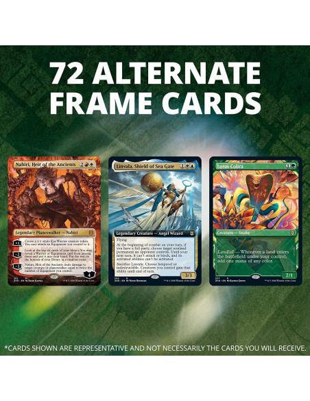 72 cartas con frame alternativo