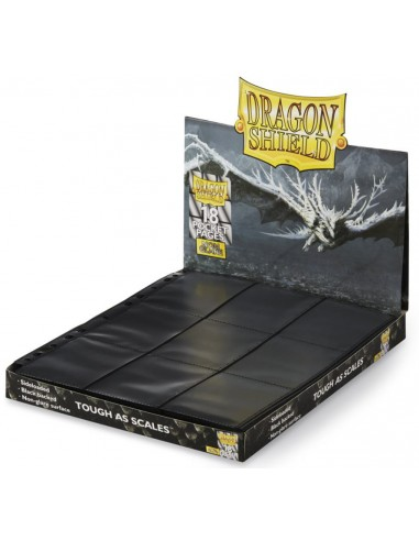 Hojas Dragon Shield: 18-Pocket Pages Non-Glare - Magicsur Chile