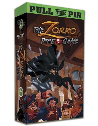 The Zorro Dice Game - Caja - Magicsur Chile