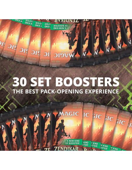 30 sobres caja de Set Boosters de Zendikar Rising en Magicsur Chile