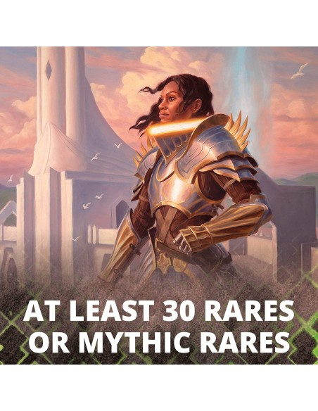 Al menos 30 cartas raras o míticas en la caja de Set Boosters de Zendikar Rising en Magicsur Chile