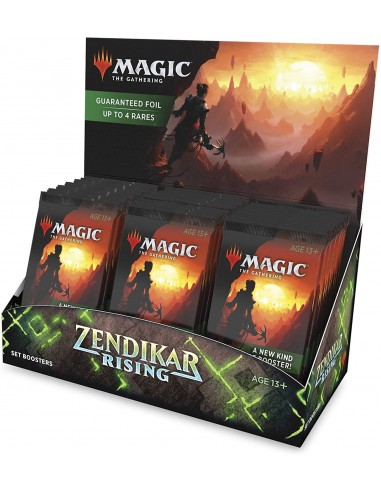 Magic The Gathering Zendikar Rising en Chile - Set Boosters Box - Sobres de Colección