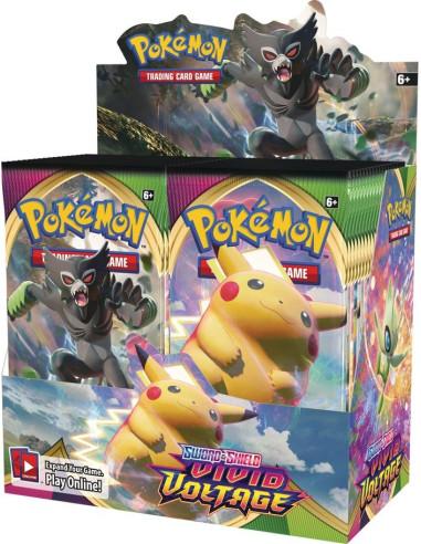 Pokémon TCG: Sword & Shield - Vivid Voltage Booster Box - Magicsur Chile