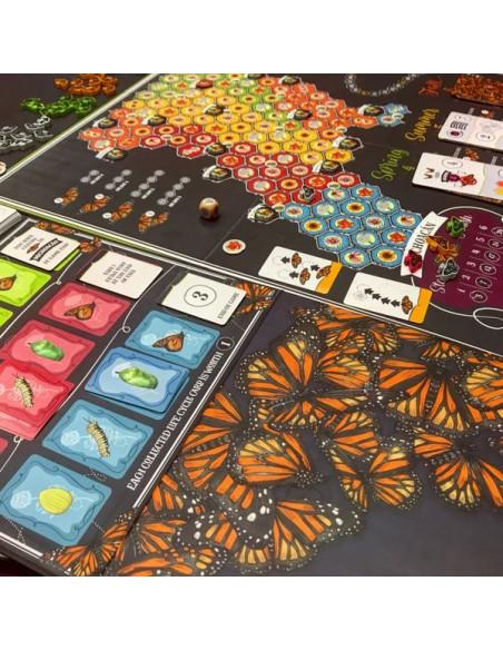 ¿Cómo es el juego de mesa Mariposas?