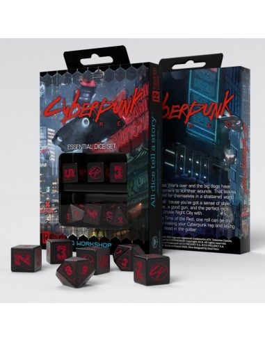 Cyberpunk Red Essential Dice Set (6pzs)