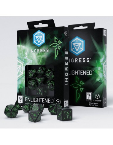 Ingress Enlightened Dice Set (7pzs)