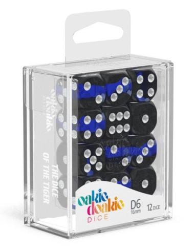 Eclave: D6 16mm Sapphire (12pzs)