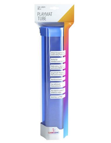 Porta Playmat GameGenic: Playmat Tube - Blue - Magicsur Chile