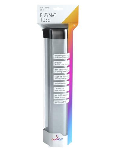 Porta Playmat GameGenic: Playmat Tube - Clear - Magicsur Chile