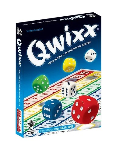 Qwixx - Juego de Mesa - Magicsur Chile
