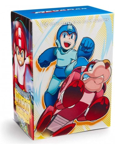 Protectores Dragon Shield: Classic - Megaman and Rush(100pzs) - Magicsur Chile