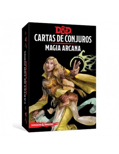 Dungeons & Dragons: Cartas de Conjuros - Magia Arcana