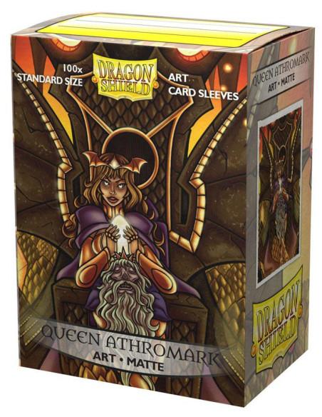 Protectores Dragon Shield: Art Matte - Queen Athromark (100pzs) - Magicsur Chile