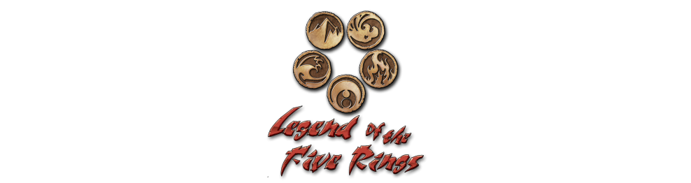 Juego de cartas coleccionables Legend of the Five Rings en Chile