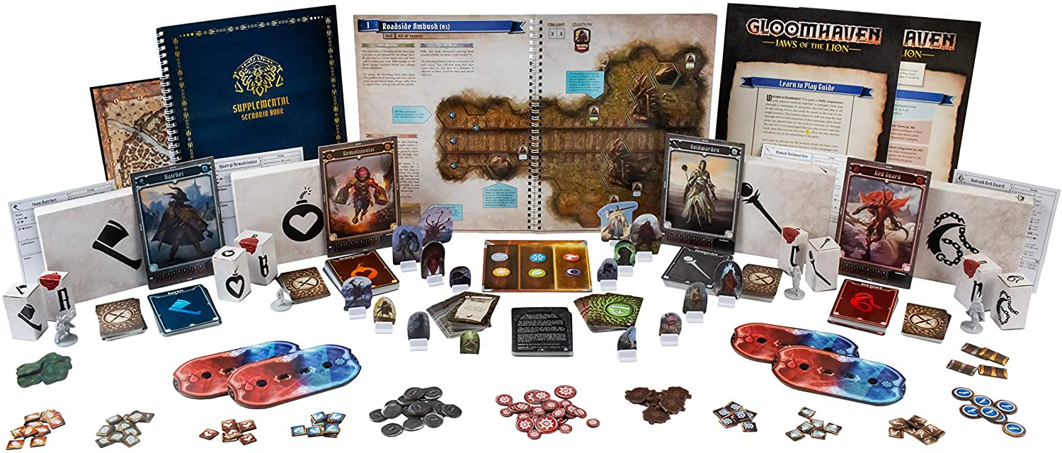 Gloomhaven: Jaws of the Lion - Juego de Mesa en Magicsur Chile