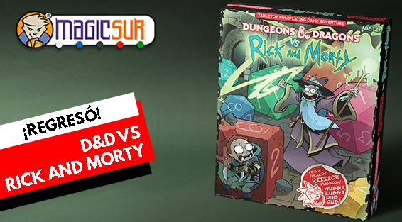 DnD VS Rick and Morty Tabletop RPG en Magicsur Chile