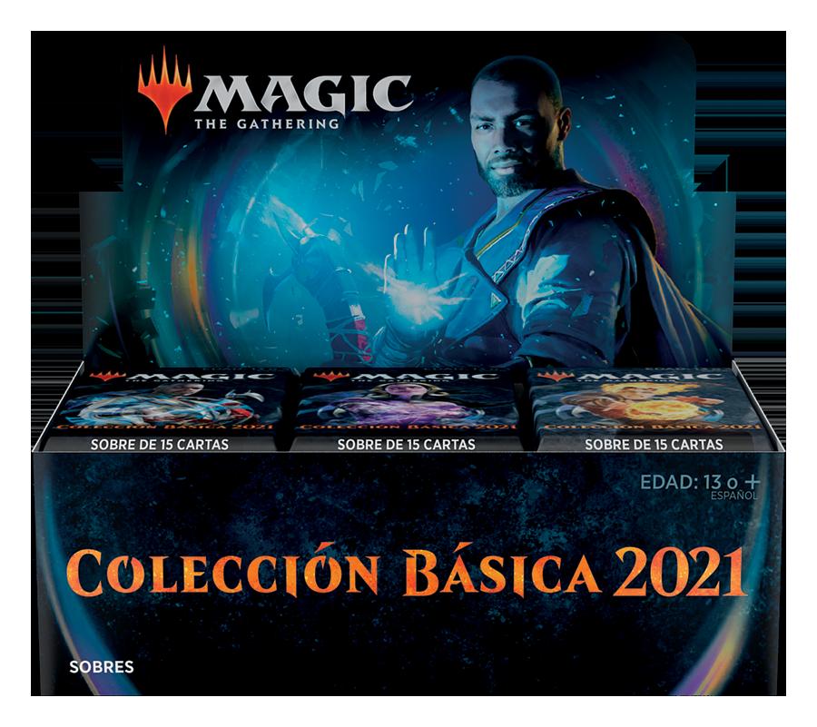 Cajas de sobres de Colección Básica 2021 - Magicsur Chile