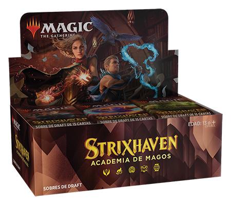 Caja de sobres de Strixhaven