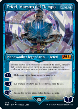Carta de Teferi Magic The Gathering Core Set 2021